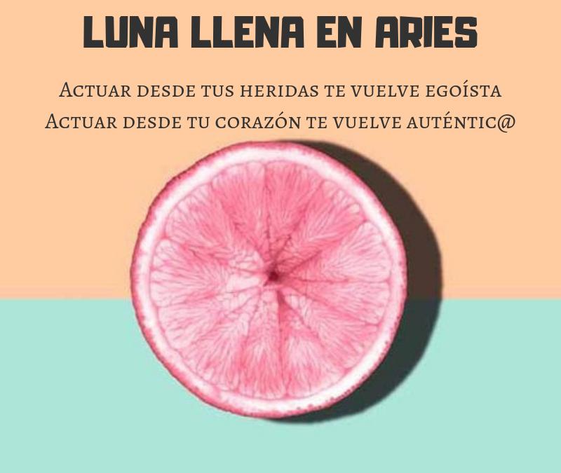 LUNA LLENA EN ARIES 2018